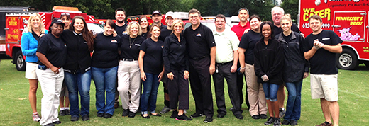 Famous Dave's Nashville catering team photo